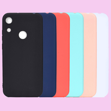 Fashion Candy Macaron Solid Colors Soft TPU Cases Smartphone Silicone Cover Shell Coque Funda Capa for HUAWEI Honor 8A Case