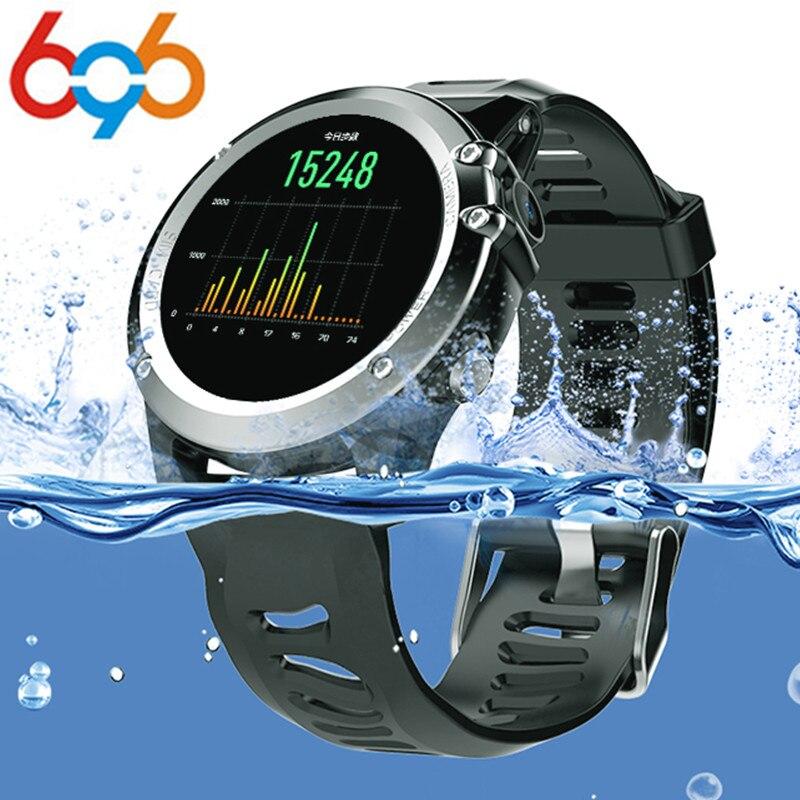 696 H1 MTK6572 IP68 GPS Wifi 3g Smart Camera Della Vigilanza Impermeabile 400*400 Monitor di Frequenza Cardiaca di 4 gb 512 mb Per Android IOS