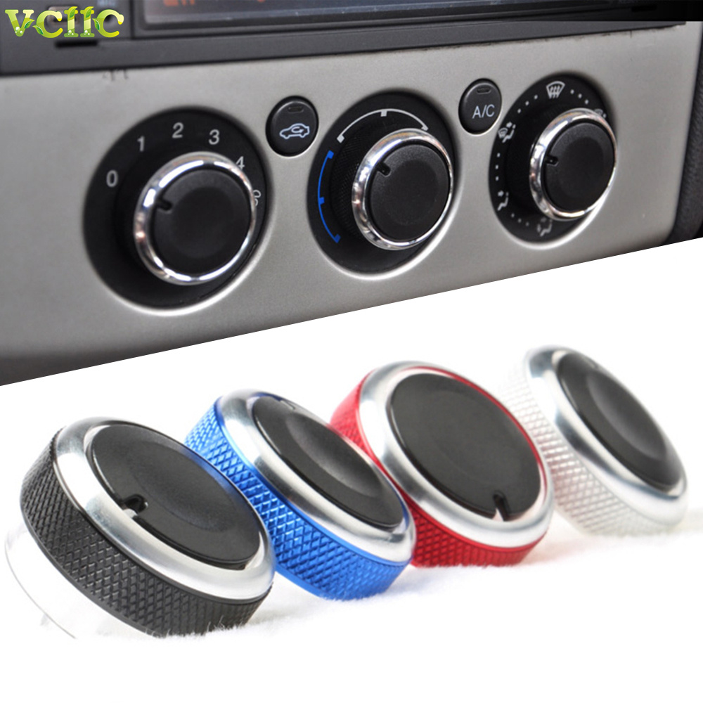 3 шт./компл. ручка переключателя контроля тепла кондиционера ручка переменного тока для Ford Focus 2 MK2 Focus 3 MK3 седан хэтчбек Mondeo автостайлинг