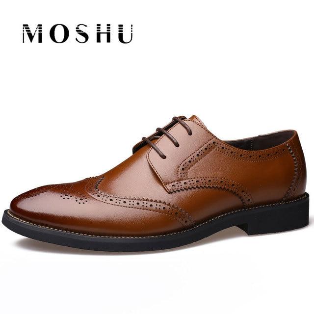 Hommes cuir Chaussures style européen richelieus mode Oxfords 8nzZh0O6Y