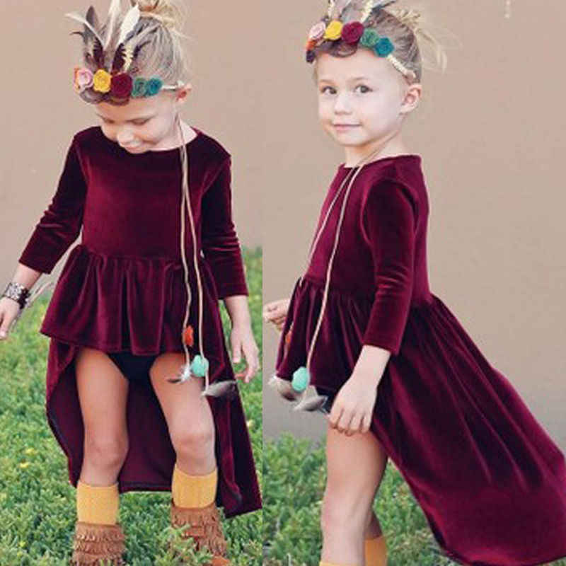 db1d14104 Detail Feedback Questions about 2017 New Wine Red Toddler Baby Girls ...