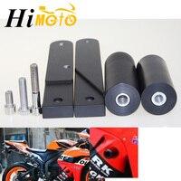 Motorcycle Black Cut Frame Sliders Crash Falling Protection For Honda CBR600RR CBR 600 RR CBR 600RR 2009 2010 2011 2012