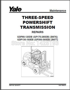 New Yale Repair Manuals PDF 2017 for EURO