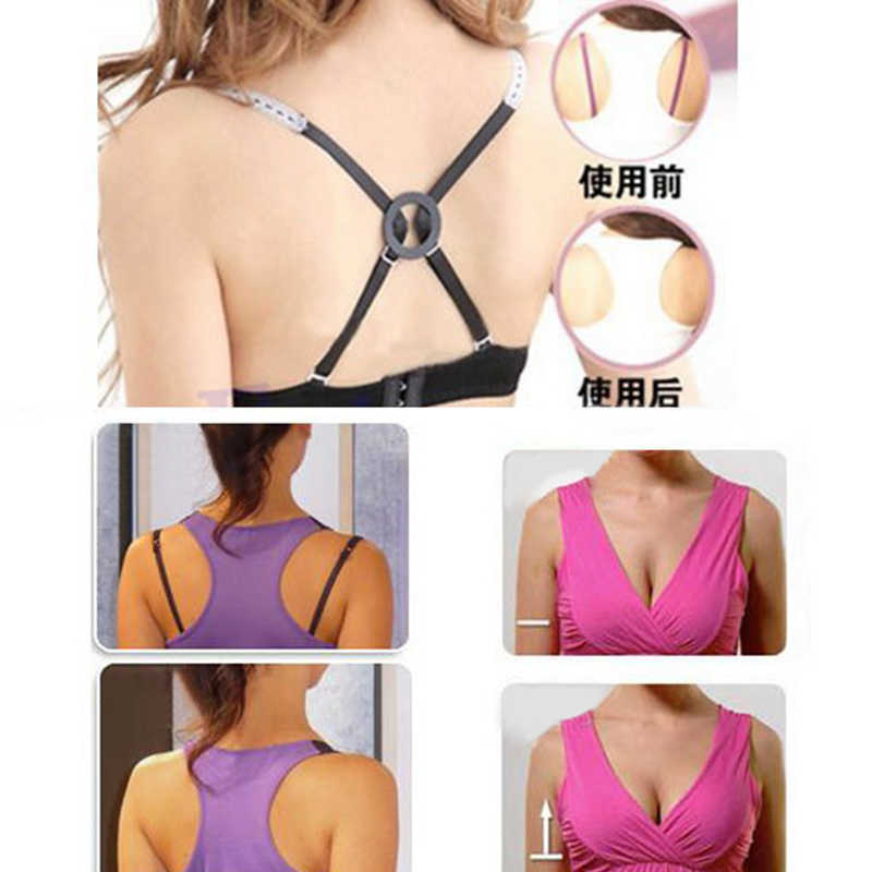 431a553a428 5 Pcs Wedding Bra Straps Bra Clip Buckles Shadow-Shaped Buckle Conceal Clear  Cleavage Bra