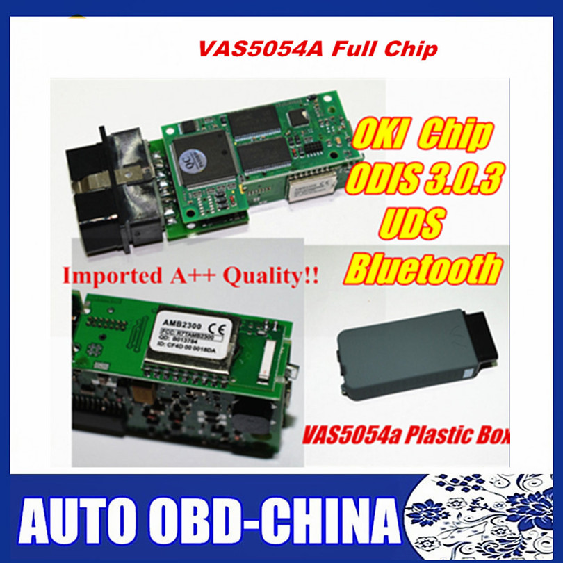 Цена за 2017 новые VAS5054 OKI VAS 5054A полный чип 5054 инструмент диагностики сканер OBD2 диагностический инструмент Поддержка UDS VAS5054A ODIS v3.0.3