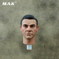 1/6 Scale 007 James Bond Head Sculpt Carving For 12 Action Figures Male Bodies
