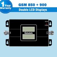 Neue Lintratek Zwei LCD Displays!! GSM 65dB Handy Verstärker 850 mhz 900 mhz Dual Band Cellular Signal Repeater Booster Brazil44