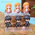 Аниме-меч искусство интернет асуна Kirigaya Kazuto в версии PVC фигурки коллекционные игрушки SOFG030