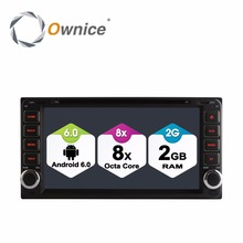 цены HD 1024 Android 6.0 2G RAM Octa Core Car DVD Player For Toyota Camry Hilux Echo Vitz Rav4 Vios Terios Limo Lelas Vela GPS Radio