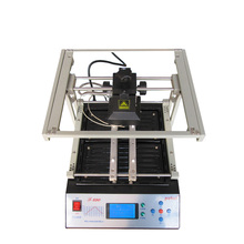 PUHUI T-890 1500W BGA Double Digital Infrared Reflow Soldering Station BGA IRDA Welding Machine SMT SMD Rework Station стоимость