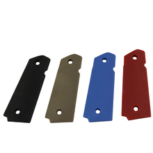 Tactical 1911 Grip Cover for Hunting Pistol Series BK DE Blue Red