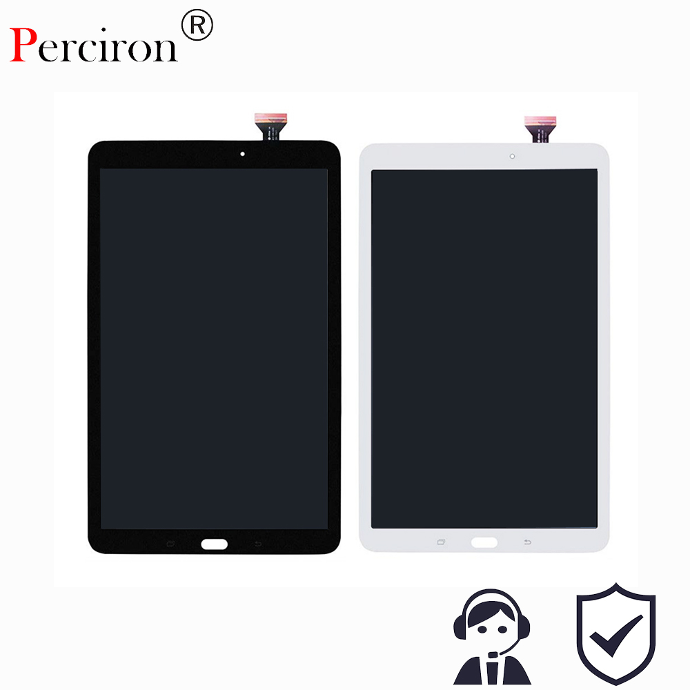 New For Samsung Galaxy Tab E 9.6 SM-T560 T560 SM-T561 LCD Display Touch Screen Digitizer Matrix Panel Tablet Assembly Parts bathroom shelves dual tier brass wall bath shelf towel rack holder hangers rails home decorative accessories towel bar 9129k