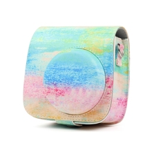 PU Leather Film Camera Bag Cover Pouch Cases For Fujifilm In