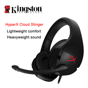 Image 2 - Kingston HyperX سحابة ستنغر الأذن سماعات هيئة التصنيع العسكري Steelseries سماعة الألعاب مع ميكروفون للكمبيوتر PS4 Xbox المحمول