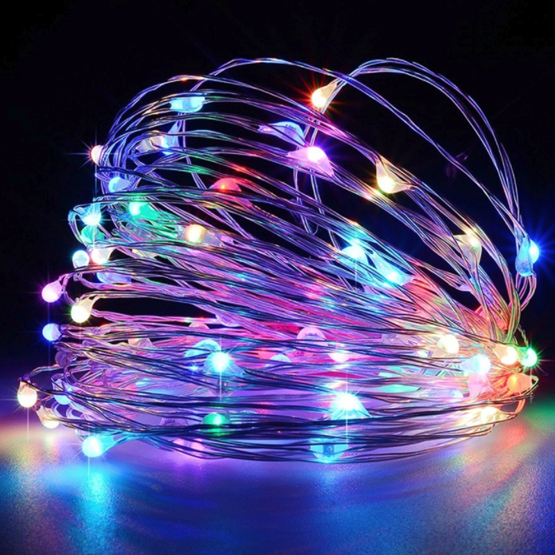 20m LED Outdoor Solar Lamp 200 LEDs String Lights Fairy Holiday Christmas Party Home Garland Solar Garden Waterproof Lights