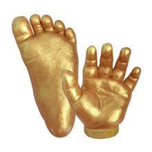 Get more info on the 3D Hand  Foot Print Mold for Baby Powder Plaster Casting Kit Hand  Footprint Materials Keepsake Gift Baby Growth Memorial