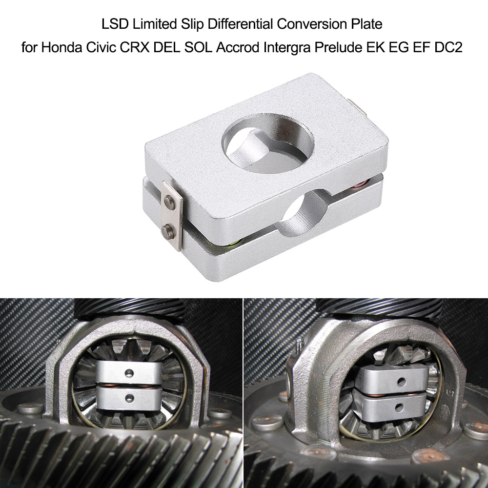 Gentle Lsd Limited Slip Differential Conversion Plate For Honda Civic Crx Del Sol Accrod Intergra Prelude Ek Eg Ef Dc2 Strengthening Waist And Sinews