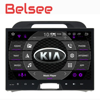 Belsee Kia Sportage Android 8.0 Double 2 Din Auto Head Unit Radio Stereo Octa 8 Core Ram 4GB Rom 32GB GPS Navigation Car Player