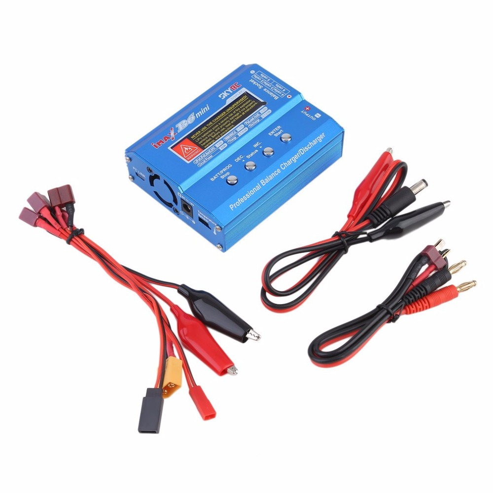 Newest 60W iMAX B6 Li-po Ni-Mh Li-ion Ni-Cd RC lithium Battery Balance Digital Charger Discharger аккумулятор metabo 12v 3 0ah ni mh bsz12 bs12sp 6 0215 501
