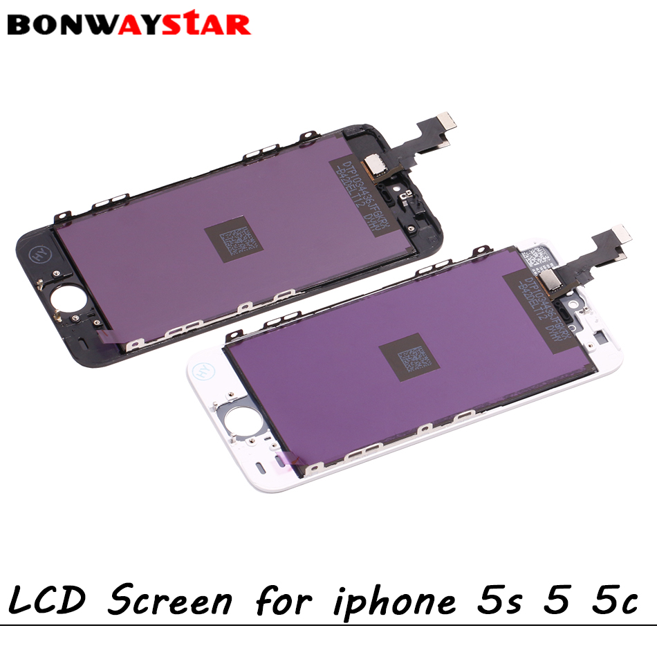 LCD Screen for <font><b>iPhone</b></font> <font><b>5</b></font> Display LCD Touch Screen Digitizer Assembly Replacement for <font><b>iphone</b></font> 5c 5s <font><b>ecran</b></font> pantalla Part original image