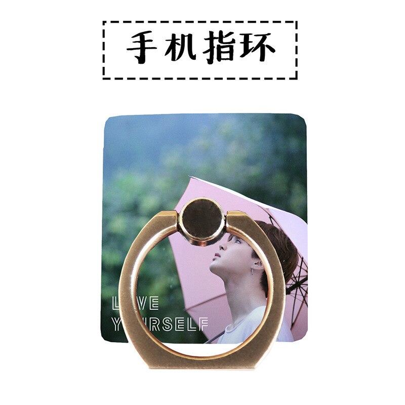 MYKPOP]BTS JIMIN 360 Degree rotate Mobile Phone Desk Holder Finger Ring Holder for all Smart Phones KPOP Collection SA18061314