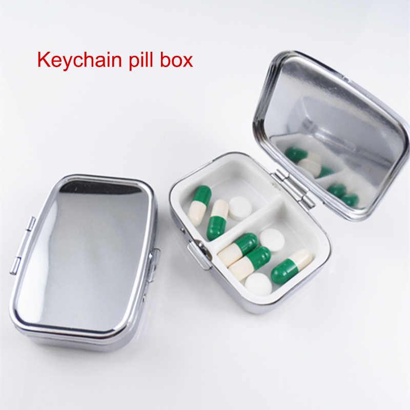 ピル医学キャンディボックスケース収納ビタミンコンテナ金属ポケットポータブルオーガナイザードロップシッピング DFA