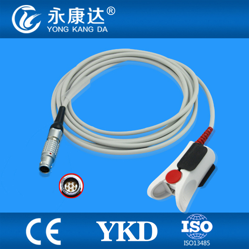 Compatible INVIVO masimo adult finger clip SpO2 Sensor 3m,7pin