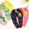 Малыш брюки 2015 новый бренд весна мальчиков длинные брюки медведь дети шаровары терри эластичный пояс брюки детей брюки для мальчиков