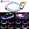 47inch Car Styling Turn Signal Strip LED Trunk Tailgate Light Colorful 7 Color Flash LED Light