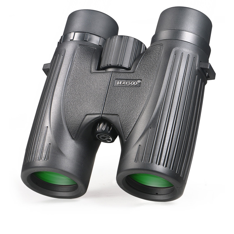 LEAYSOO 8X32 Binocular HD Nitrogen night vision Waterproof IPX7 Camping Hunting Telescope Optics Binocular MC Green Film цена