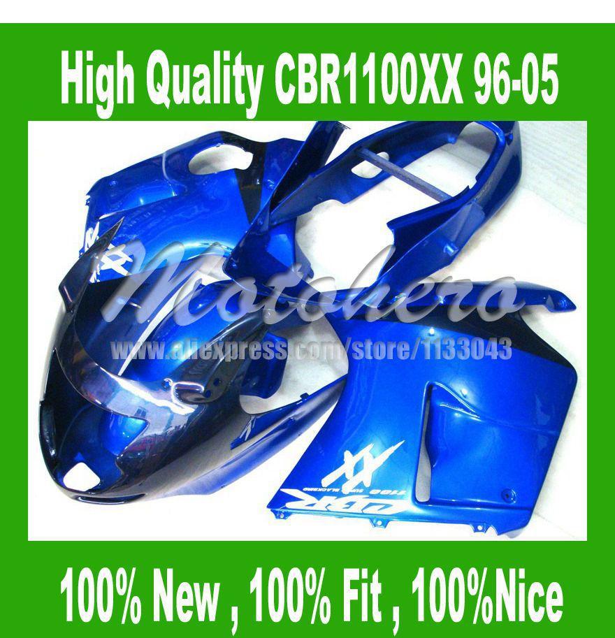 Fairing for Honda CBR1100XX 1996 2005 CBR1100 XX 96 05 CBR 1100XX 96 05 CBR 1100 XX 96 05 fairings kit black #S622L9