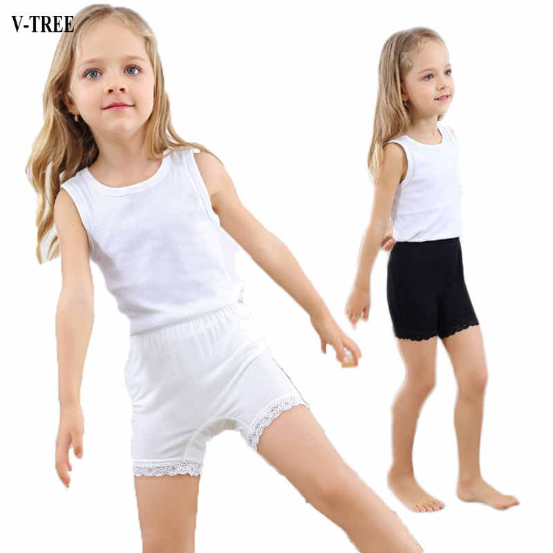 80a4468f601b Detail Feedback Questions about Girls Safety Short Cotton Teenageres  Shortss For Girls Lace Girl Underwear Child Panties Clothing on  Aliexpress.com ...