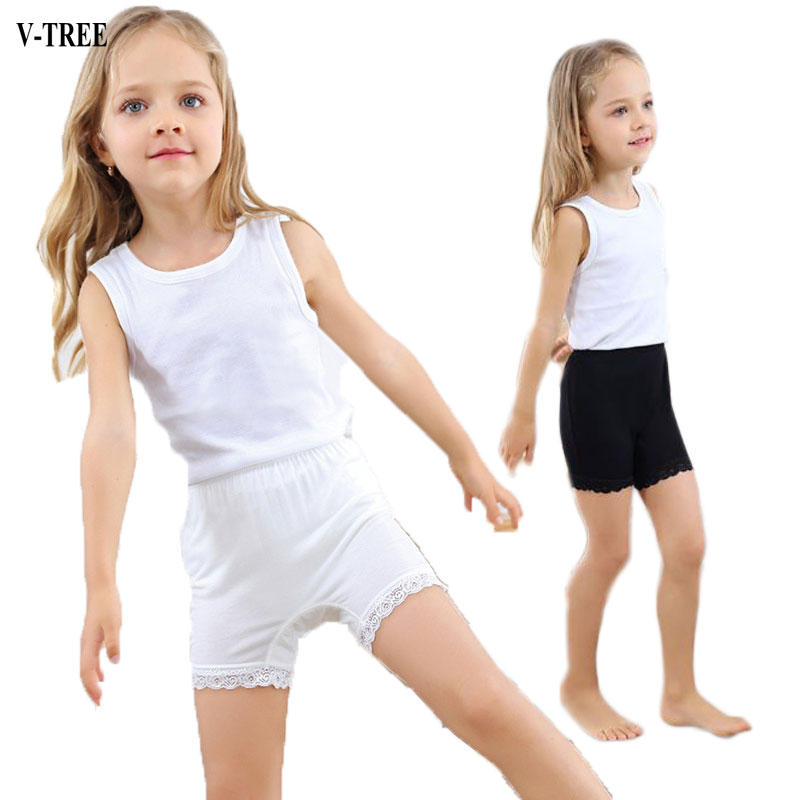 Girls Safety Short Cotton Teenageres Shortss For Girls Lace Girl Underwear Child Panties Clothing girl