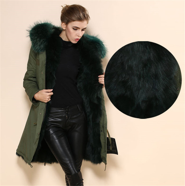 Fur lined parka wholesale