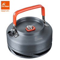 Fire Maple Outdoor Camping Pinic Heat Exchange Kettle Coffee Tea Pot 0 8L With Heat Proof