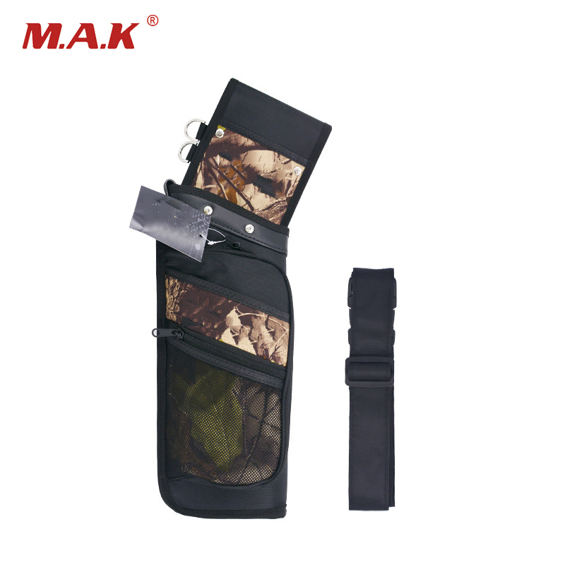 High Quality 4 Color Reverse Arrow Quiver Single Shoulder Quiver Bag for Bow Archery Hunting Shooting