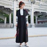 Japanese Style Men Samurai Costume Haori Vintage Women Kimono Dress Yukata Japan Traditional Costume Party Cosplay Stage Clothes