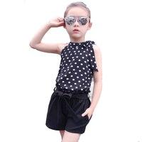 Girls Clothing Sets Brand High Quality Cotton Infant Suits Vest Top Pants 3pcs Girl Clothes Fashion