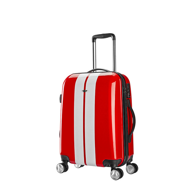 KAWEIDA PC 20 inch mini rolling luggage Spinner women suitcase Wheels Boarding suitcase men carry on trolley travel bag trunk 1
