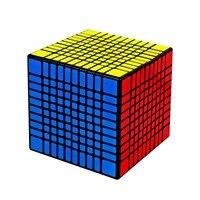 YUXIN ZHISHENG HUANGLONG Волшебные кубики 10*10*10 stickerless головоломка кубик Fidget Magico Cubo развивающие игрушки подарки