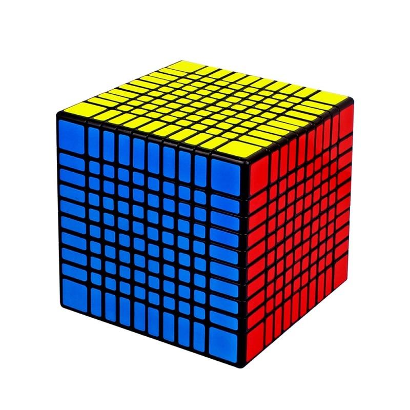 YUXIN ZHISHENG HUANGLONG Cubes magiques 10*10*10 Puzzle sans autocollant Cube Fidget Magico Cubo jouets éducatifs cadeaux