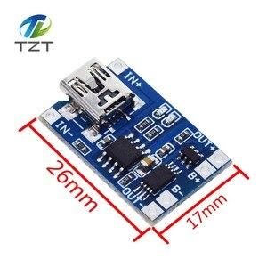 Image 3 - 10 adet mikro USB 5V 1A 18650 TP4056 lityum pil şarj cihazı modülü şarj kurulu koruma ile çift fonksiyonları 1A Li ion