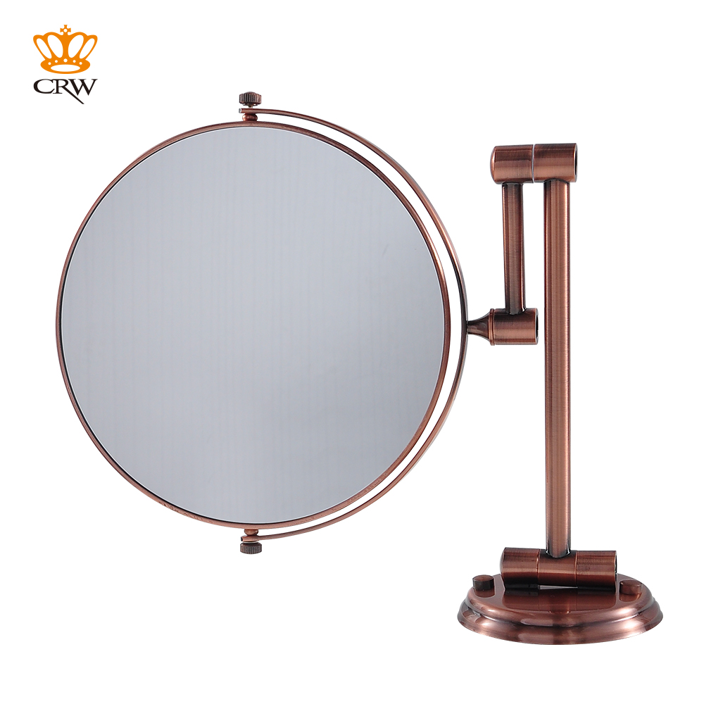 CRW Bathroom Mirror Magnifying Make Up Shaving 2 Face Vintage Style ...