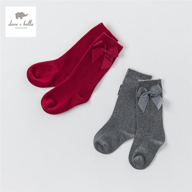 DB4270 dave bella autumn baby girls preppy style socks