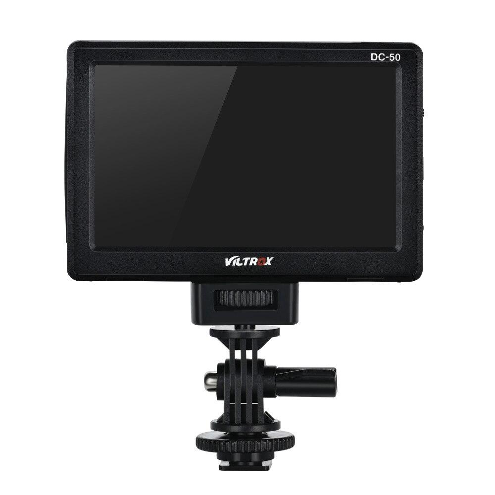 Viltrox DC 50 Viltrox DC-50 Portable 5 Pouces Écran 480 P Clip-sur Couleur LCD Moniteur HDMI pour Appareil Photo photo Studio Accessoires
