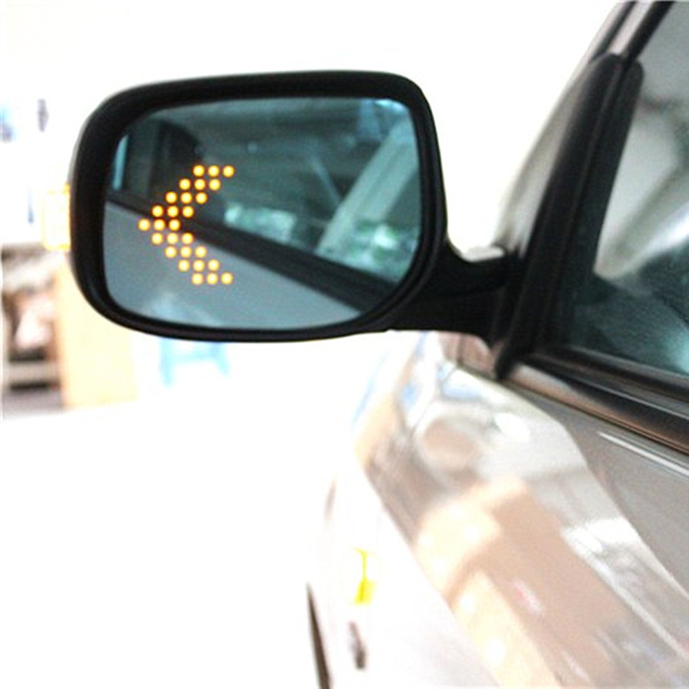 Brand new power heated blue wide angle sight side rear view mirror glasses for toyota corolla