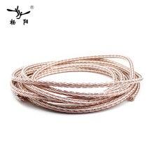 Yyaudio 8TC 7N OCC чисто медный кабель для динамика колонка с высоким качеством звука провод громкий кабель колонки