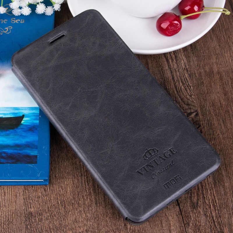 Mofi роскошный чехол из pu кожзама кожаный чехол для Xiaomi Redmi 4x с подставкой и держатель для карт чехол для Xiaomi Redmi 4x5,0 дюймов