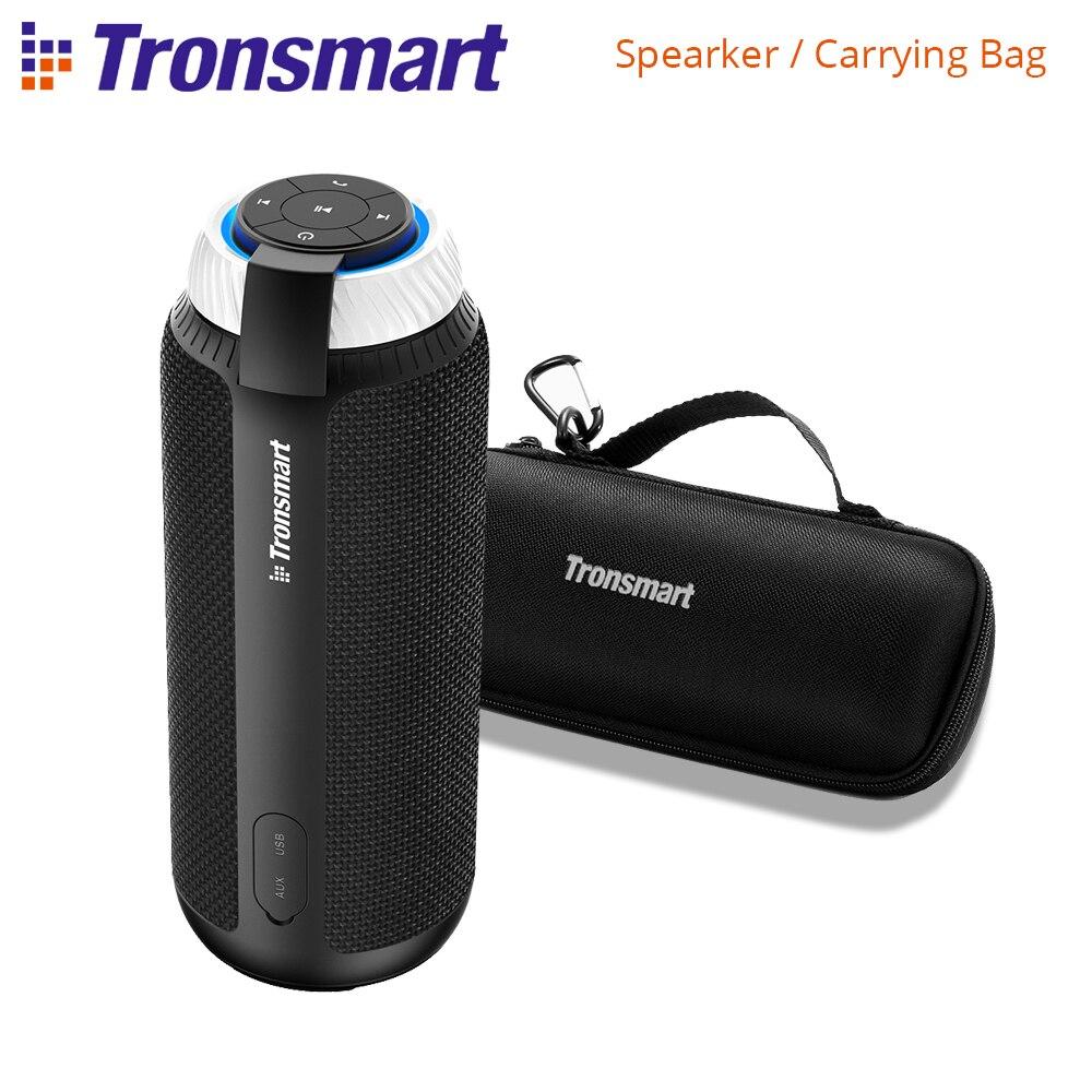 Original Tronsmart Element T6 25 W Bluetooth Portable haut-parleur sans fil barre de son Audio récepteur haut-parleurs USB pour lecteur MP3 de musique