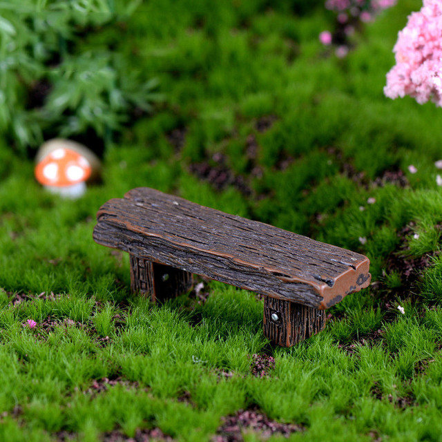 Nhựa bằng gỗ phân Đồ Nội Thất Thủ Công Mỹ Nghệ Trang Trí Sân cho Búp Bê Thu Nhỏ Cảnh Quan Hiện Đại Đồ Chơi Cổ Tích Vườn Trang Trí